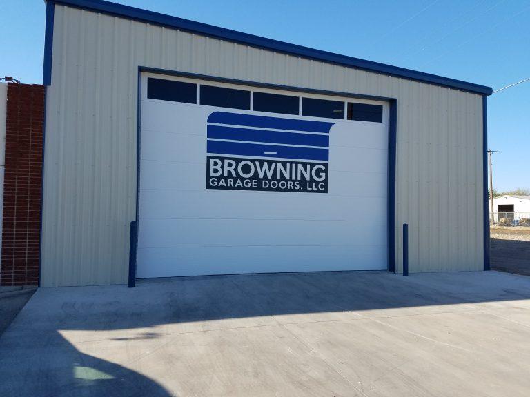 Browning Garage Doors logo door