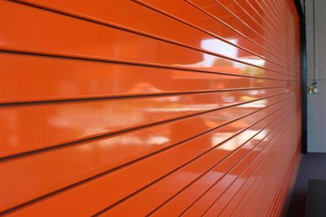 orange-service-door