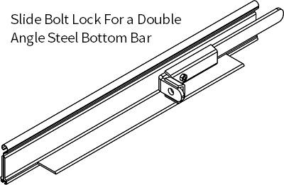 slide-bolt-assembly---double-angle-bottom-bar